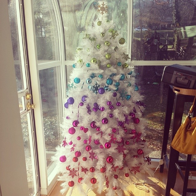 My White Christmas Tree