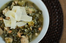 Kale, Chicken, and Quinoa Soup