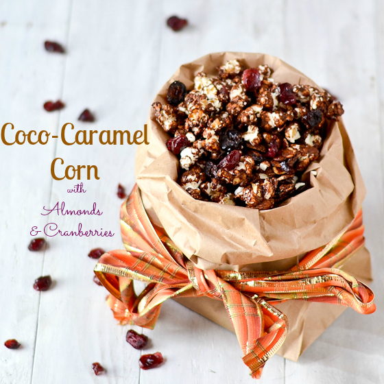 Coco-Cranberry-Almond-Caramel-Corn-@Caras-Cravings