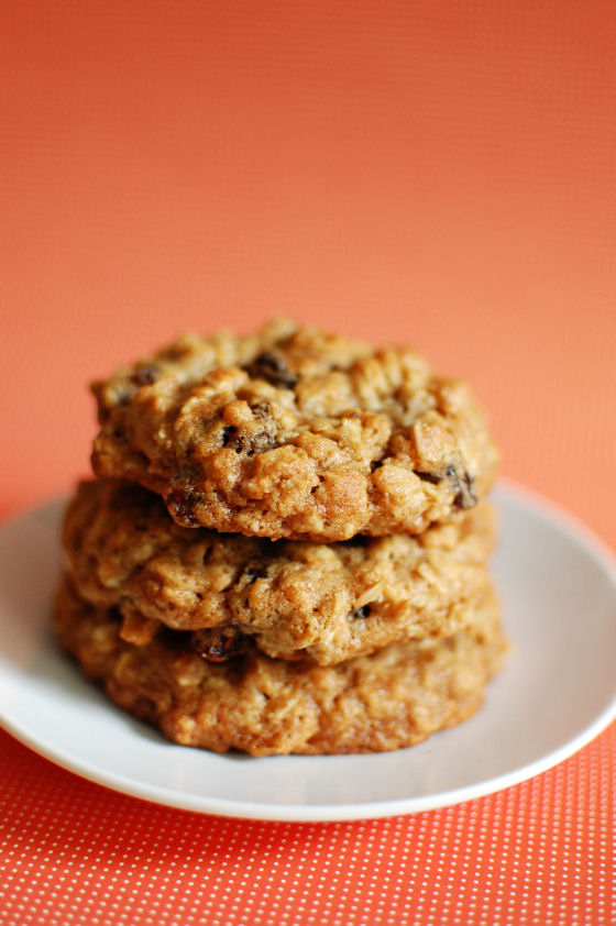 Thick and Chewy Oatmeal Raisin Cookies | Beantown Baker